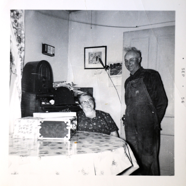 Great Grandma and Grandpa Block Sept 1956 web
